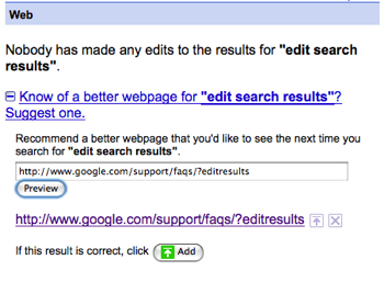 Spreading the 'Edit search results' love