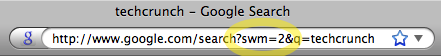 edit search url